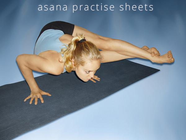 6.ASHTANGA ASANA PRACTISE SHEETS..