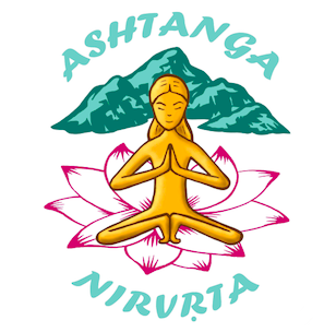 ashtanga nirvrta logo button
